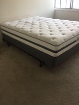 white and grey bed mattress in Palatine, Illinois