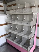 Commercial produce rack/metal baskets in Fort Campbell, Kentucky