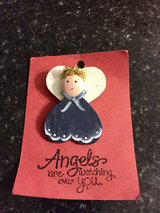 Angel Christmas pin in Naperville, Illinois