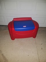 Little Tikes / Red / Blue Toy Box in Fort Campbell, Kentucky
