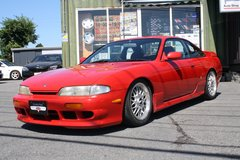 1995 NISSAN SILVIA K's (S14) - Inspection & Shipping Included in Misawa AB, Japan