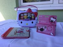 Hello kitty (set of three ) book, camera,PEZ in Ramstein, Germany
