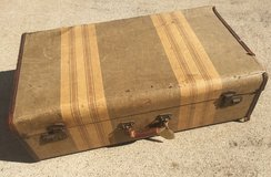 Antique suitcase in Clarksville, Tennessee