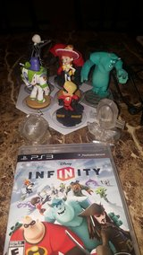 Infinity PS3 game with 8 characters in Keesler AFB, Mississippi