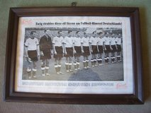 1954 Original Pic of GE Football Heroes in Mannheim, GE