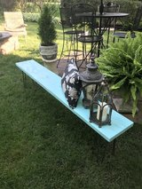 "6' Distressed ""Lake House"" Bench in Westmont, Illinois"