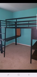 Full size loft bed in Kingwood, Texas