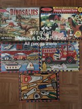 Melissa & Doug Kids Puzzles in Joliet, Illinois