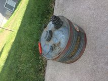 Vintage Old Ironsides Galvanized Utility Can in Fort Leonard Wood, Missouri