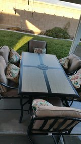 patio table and chairs in Hemet, California