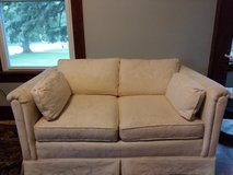Loveseat: Cream Colored: Perfect Condition! in Naperville, Illinois
