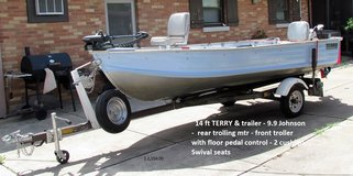 Terry 14 ft.  Boat in St. Charles, Illinois