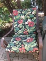 Lawn chairs with cushion in Aurora, Illinois