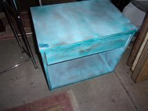 Painted End Table/Night Stand in Fort Riley, Kansas