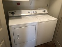 Washer and dryer in Lackland AFB, Texas