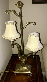 Brass Lamp in Spring, Texas