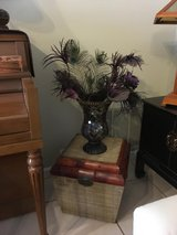 bamboo chest and princess house vase in Camp Pendleton, California