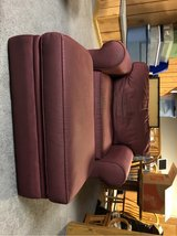 Extra wide lounge chair with ottoman in Plainfield, Illinois