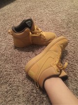 Tan Nike Air Force 1's (mid rise) F size 7 in Fort Leonard Wood, Missouri