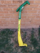 Electric weedeater in Lawton, Oklahoma