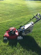 LIKE NEW 1 YEAR OLD TORO 7.25 SMART STOW HIGH WHEEL PERSONAL PACE MOWER WITH BAG GREAT SHAPEREAD... in Yorkville, Illinois