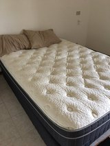 Queen Size Mattress and Base in Vicenza, Italy
