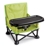 Summer Infant Pop and Sit Portable Booster, Green/Grey  Brand New! in Lancaster, Pennsylvania