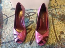 Antonio Melani Lilac 7.5 heels open toed cute in Fort Riley, Kansas