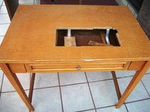 Wooden Sewing Machine Table in Alamogordo, New Mexico
