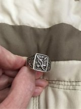 Sterling Silver Eagle Ring in Lockport, Illinois