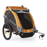 Burley D'Lite Bike Trailer, orange + accessories in Stuttgart, GE
