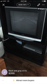 TV stand and Samsung TV in Elgin, Illinois