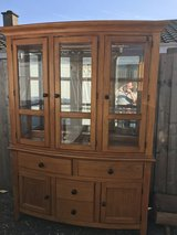Large Solid Display Cabinet in Lakenheath, UK