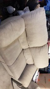 Tan double recline loveseat and three seat sofa! in Naperville, Illinois