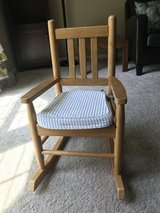 Land of Nod Kids' Wooden Rocking Chair in Wheaton, Illinois