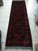 Antique hand crafted runner rug in Fort Lewis, Washington