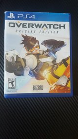 Overwatch for ps4, condition like new in Lawton, Oklahoma