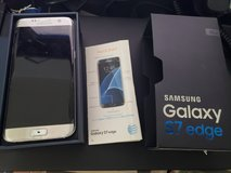 Silver Samsung Galaxy S7 Edge - AT&T in Travis AFB, California