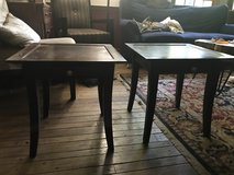 Two Wooden End Tables in Bolingbrook, Illinois