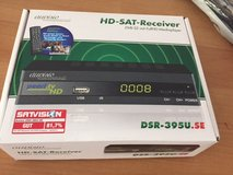 TV-HD-SAT Receiver +Remote in Stuttgart, GE