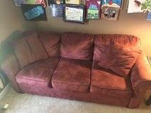Microfiber Couch & Chair in Batavia, Illinois