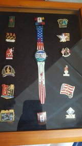 1996 Olympic Games Watch and Pins in Fairfield, California