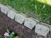 Edging stones in Glendale Heights, Illinois