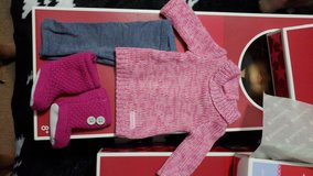 American Girl doll cozy sweater outfit in Camp Lejeune, North Carolina
