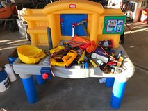 play tool center with tools in Aurora, Illinois