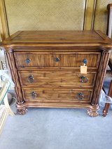 3 Drawer Tropical Design Chest by Broyhill in Wilmington, North Carolina
