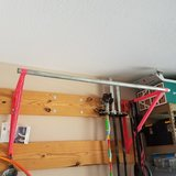 Custom pullup bar in Clarksville, Tennessee