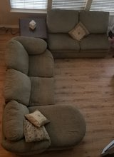 beautiful sage sectional couch in Yorkville, Illinois