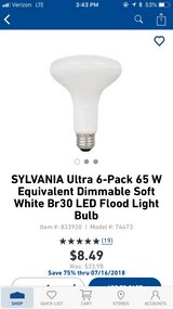 6 pack led flood light bulbs in Cleveland, Texas