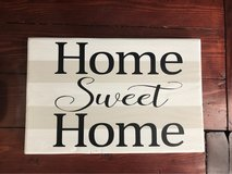 home sweet home sign in Fort Bragg, North Carolina